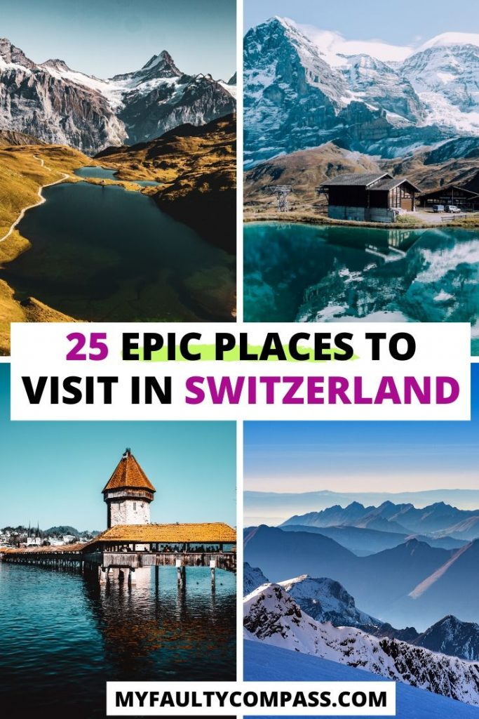 25 best places to visit in Switzerland