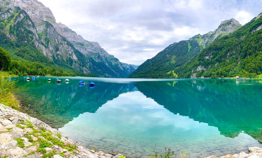 Klontalersee - best lakes to visit in Switzerland
