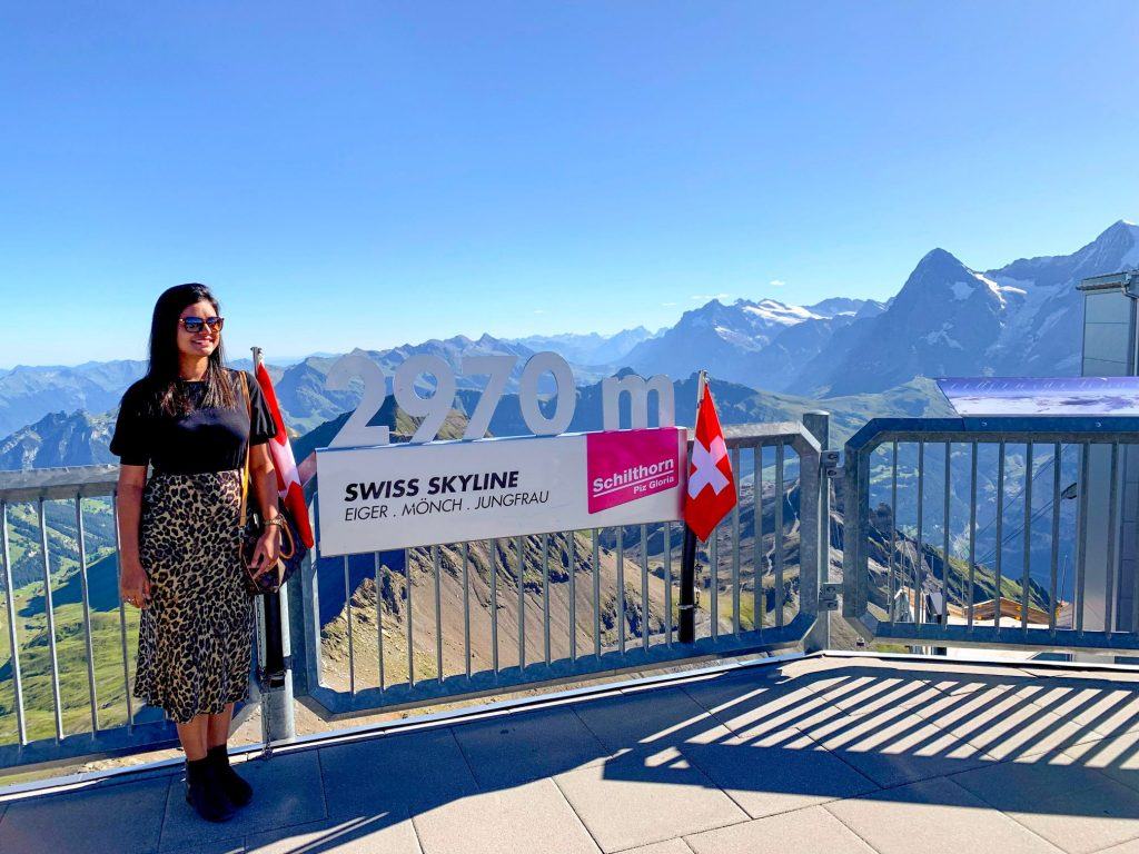 Schilthorn - best places to visit in Switzerland