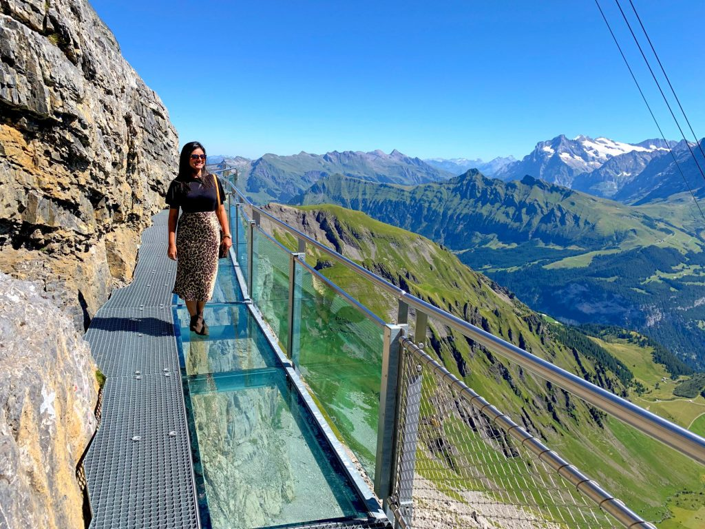 Schilthorn Cliff Walk Brig