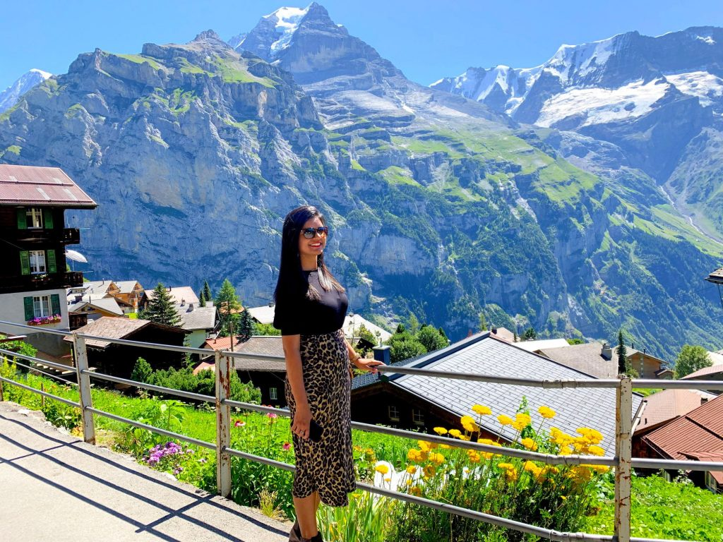 Murren - best places to visit in Switzerland
