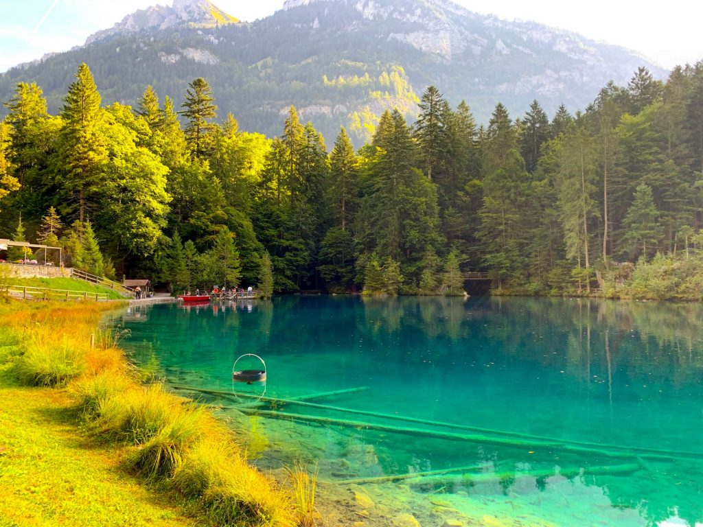 Blausee - best lakes to visit in Switzerland