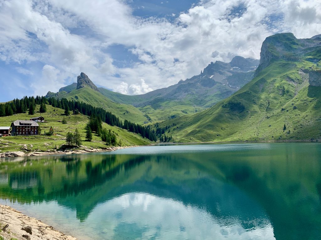 Bannalpsee - one of Switzerland's stunning lakes
