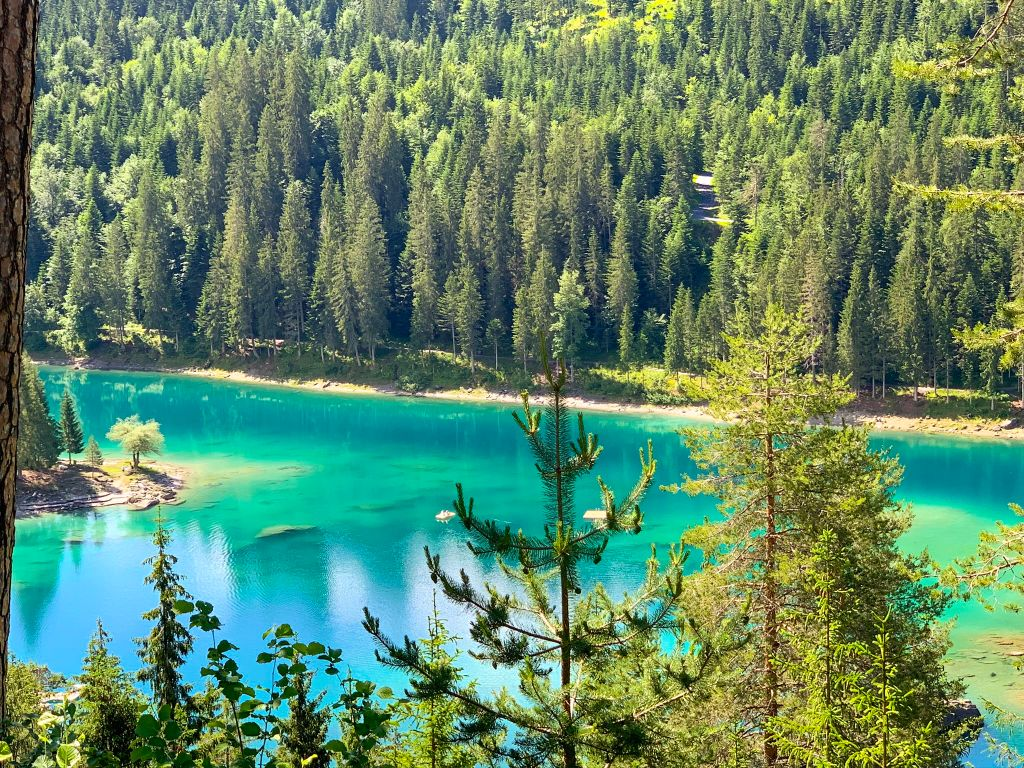 Caumasee - Hidden gems in Switzerland