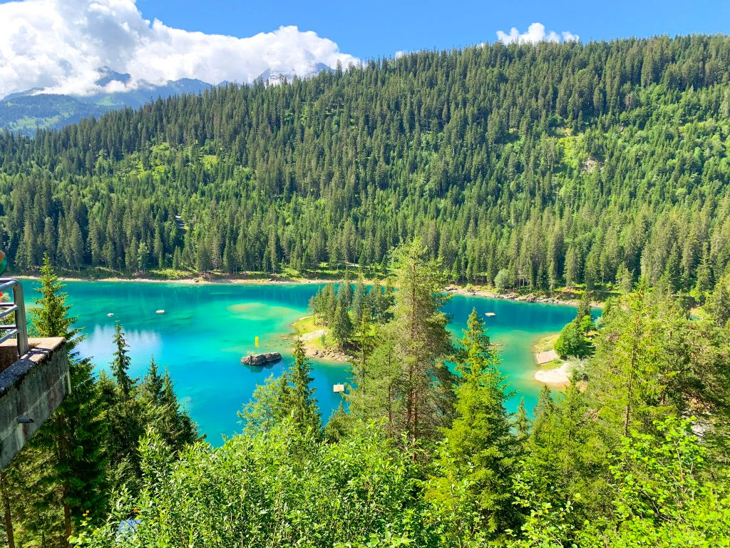 Caumasee - best places to visit in Switzerland