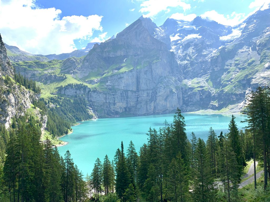 Oeschinensee - One of Switzerland's best lakes