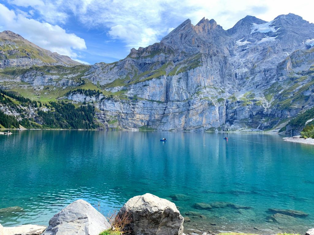 Oeschinensee - best places to visit in Switzerland