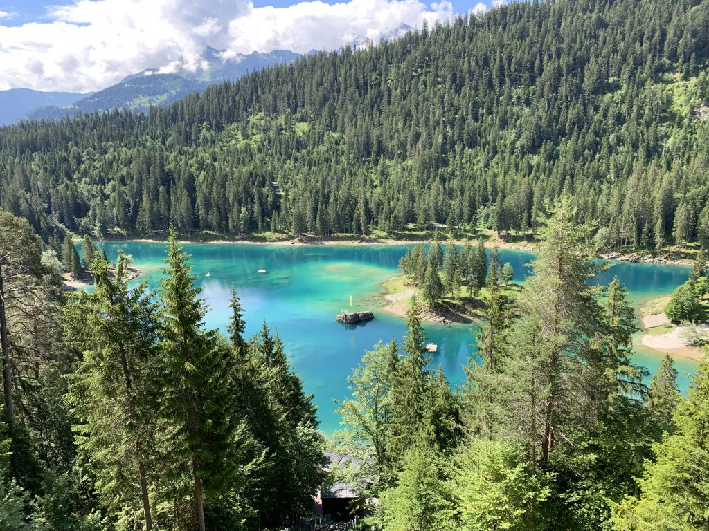 Caumasee - one of the best lakes in Central Switzerland