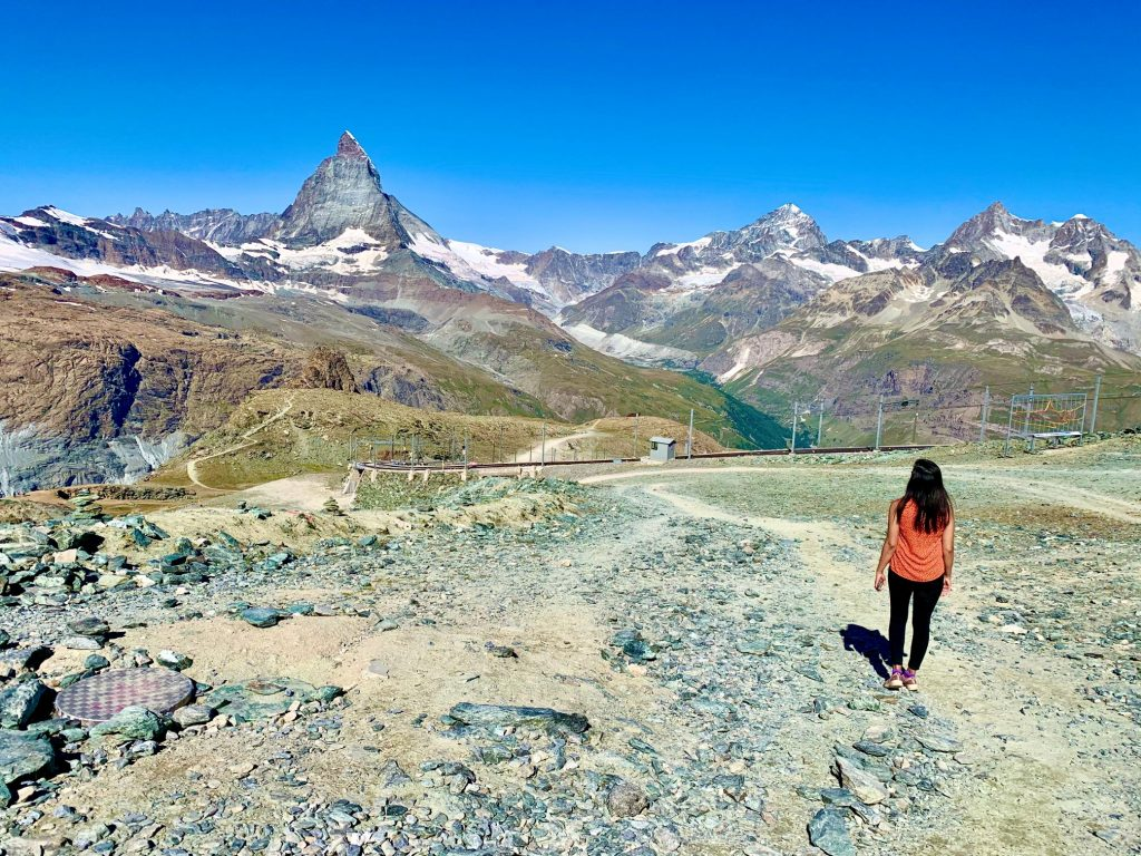Gornergrat hike start