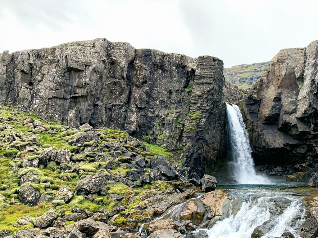 One of the best waterfalls in Iceland - Folaldafoss