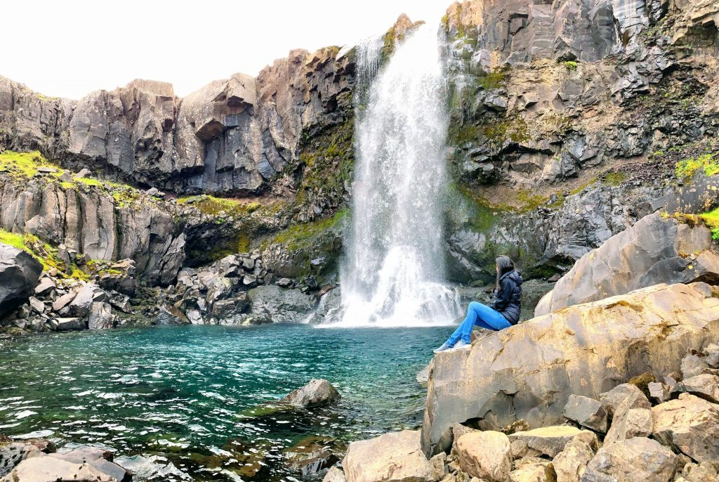 Eastern Iceland - an unnamed waterfall
