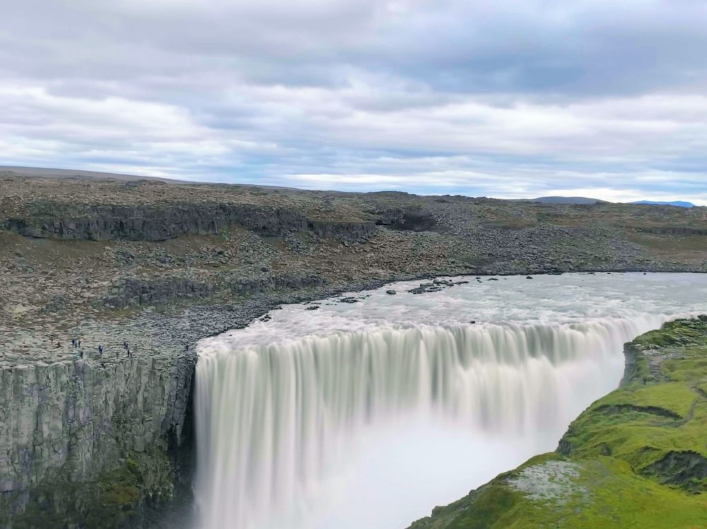 The beautiful Dettifoss waterfall in Iceland. One of the top 10 best Iceland waterfalls