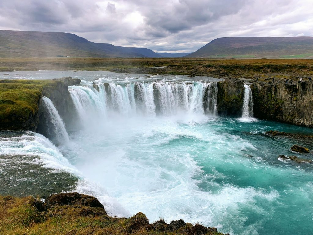 One of the most beautiful waterfalls in Iceland - Godafoss