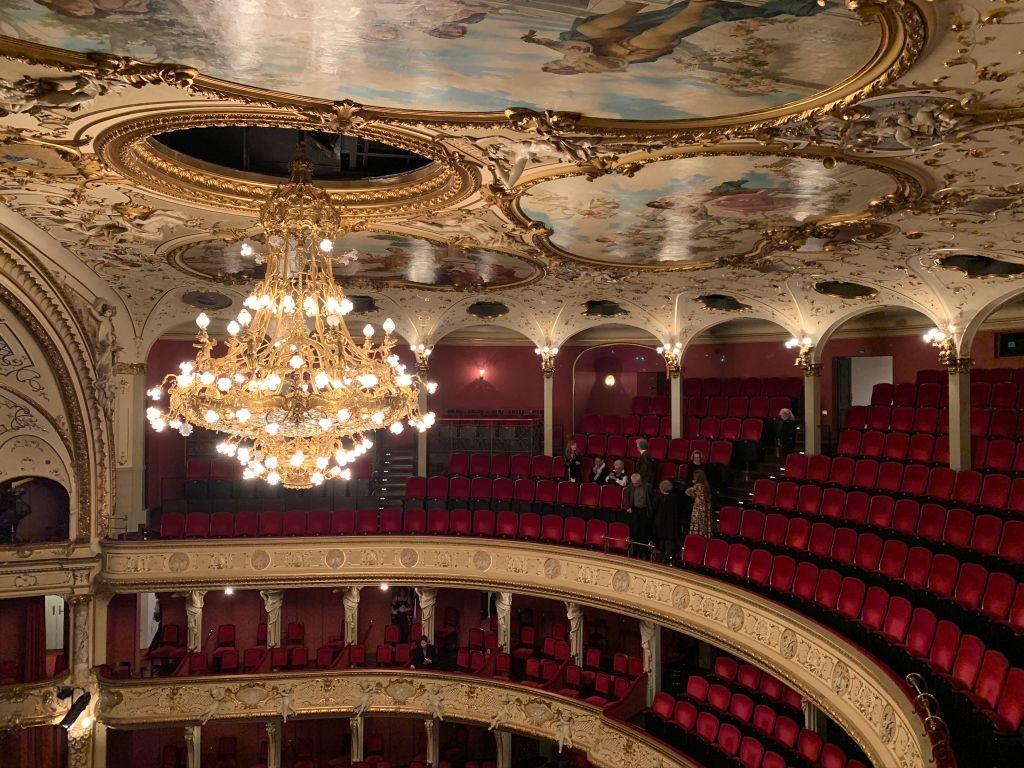 Zurich opera house Switzerland