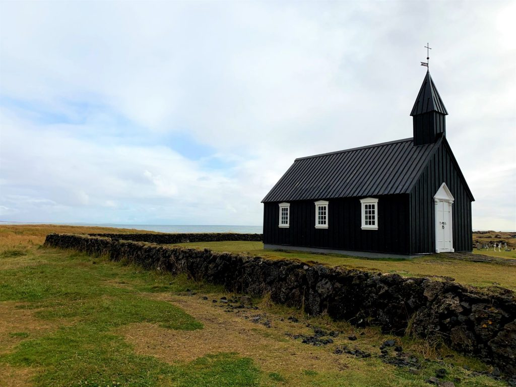 Iceland_Black Church of Búðir