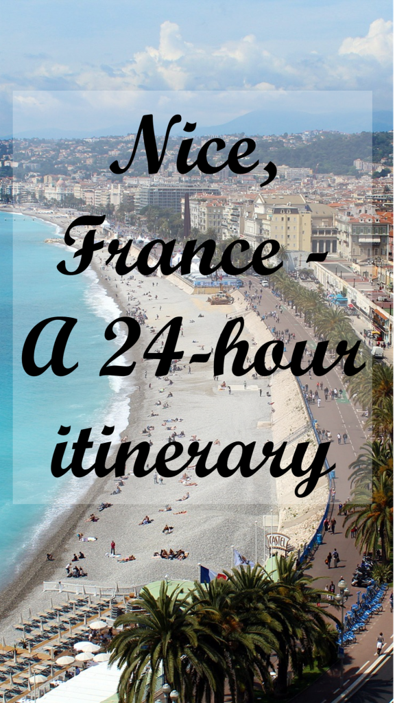 24 hour itinerary for Nice