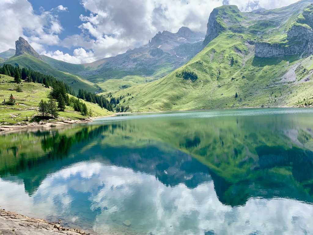 Bannalpsee - Bachalpsee - stunning off beat, non touristy places in Switzerland