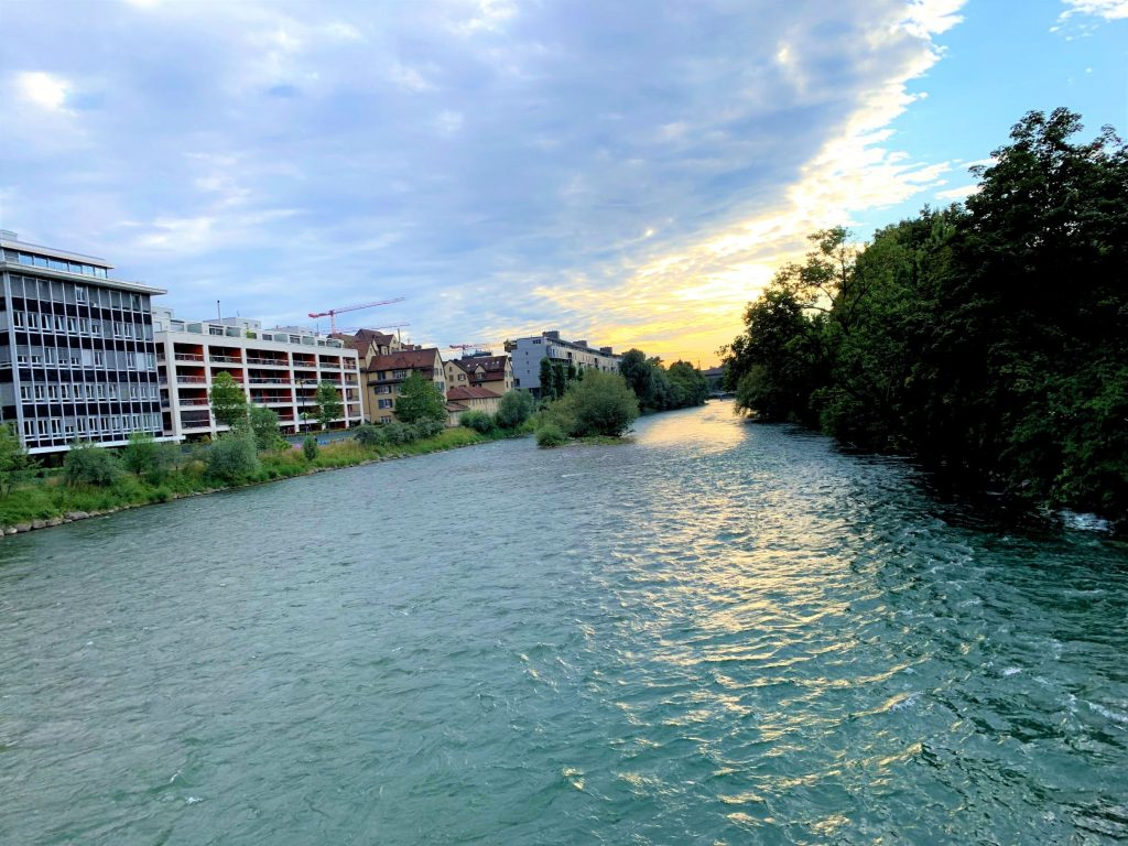 Take a swim in the Limmat