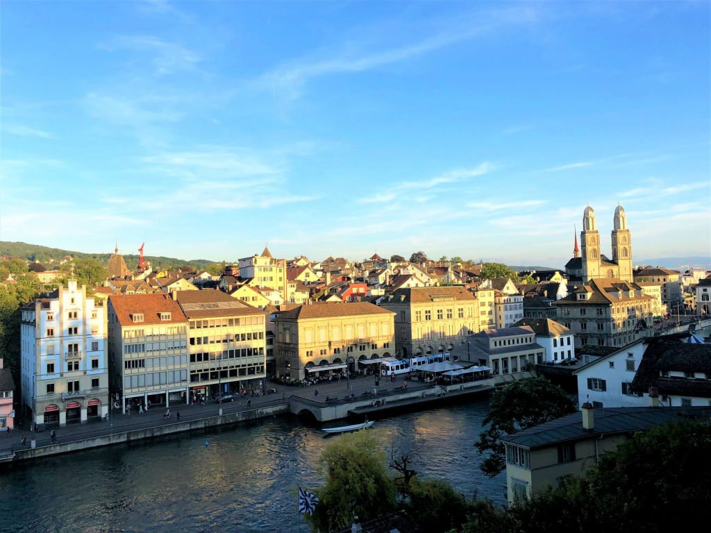 Zurich is a beautiful city - rich in tradition