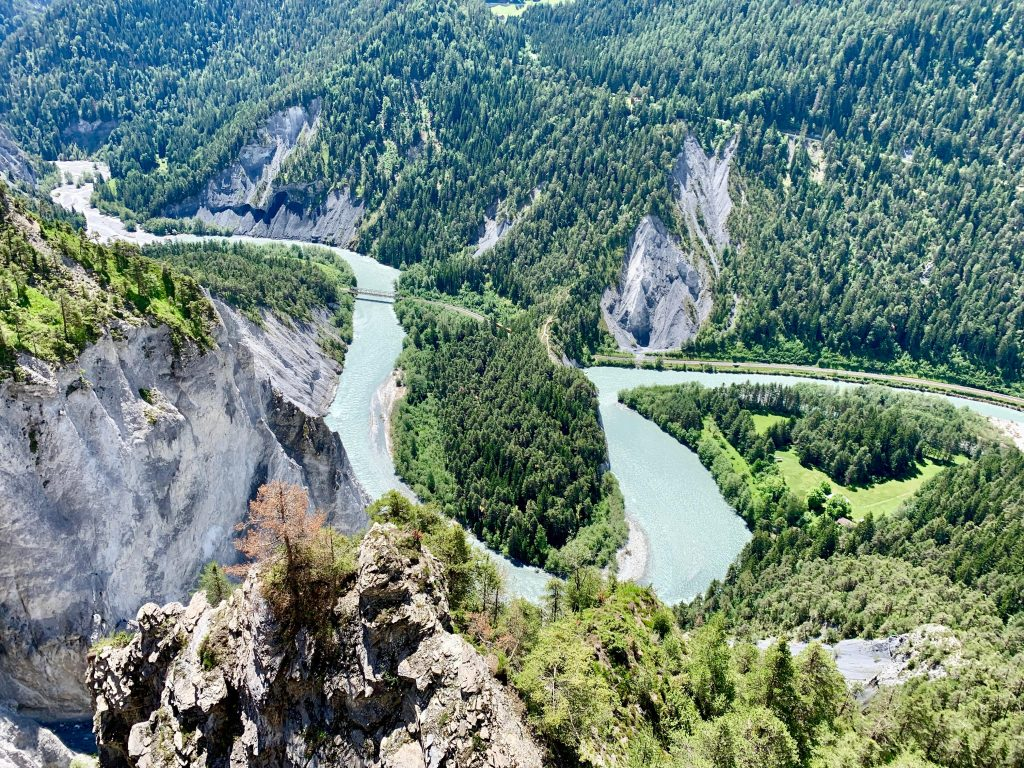 Rhine Gorge - Conn Viewing platform